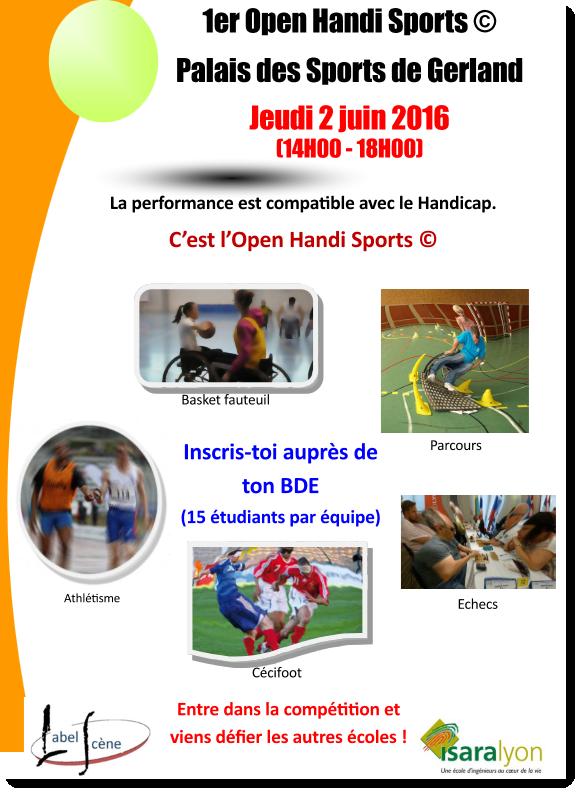1er Open Handi Sport