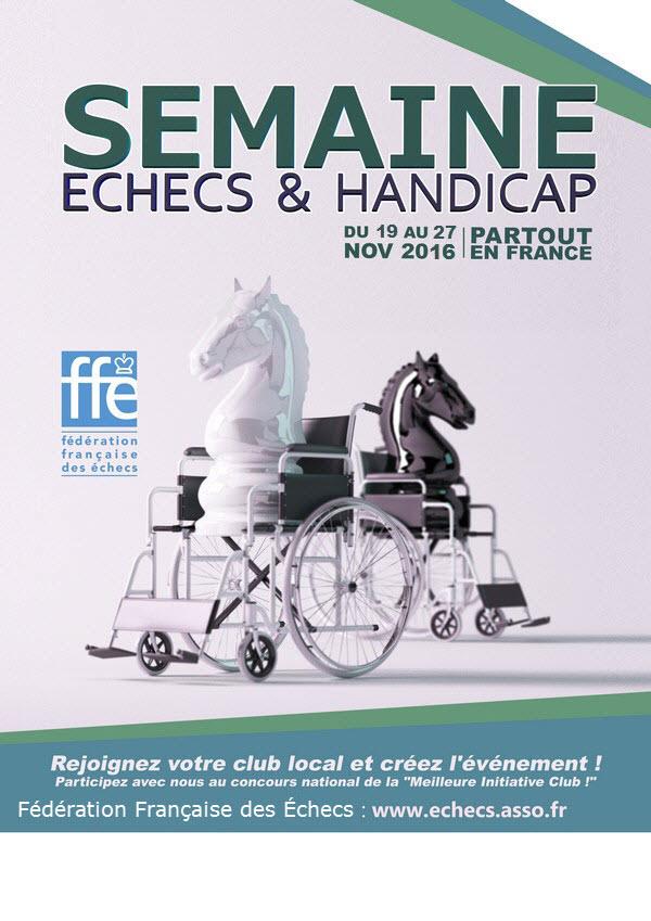 Affiche handicap 19 au 27 Novembre 2016